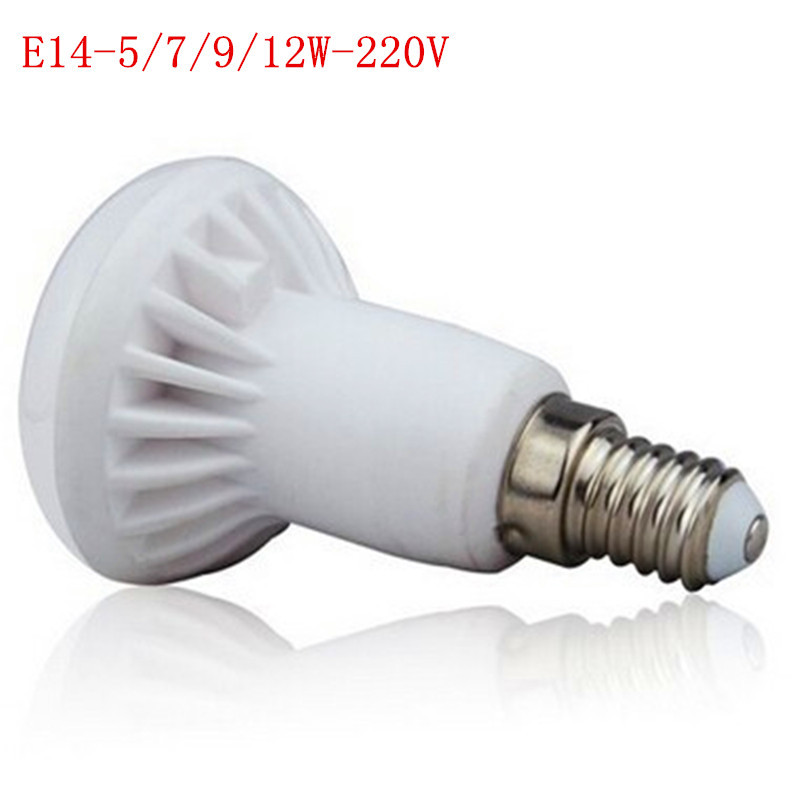 Ceramic Bulb Cool White Warm White 5w7w 9w 12w R50 E14 / E14 Perfect LED, energy saving, new focus, worthy of your purchase.(China (Mainland))