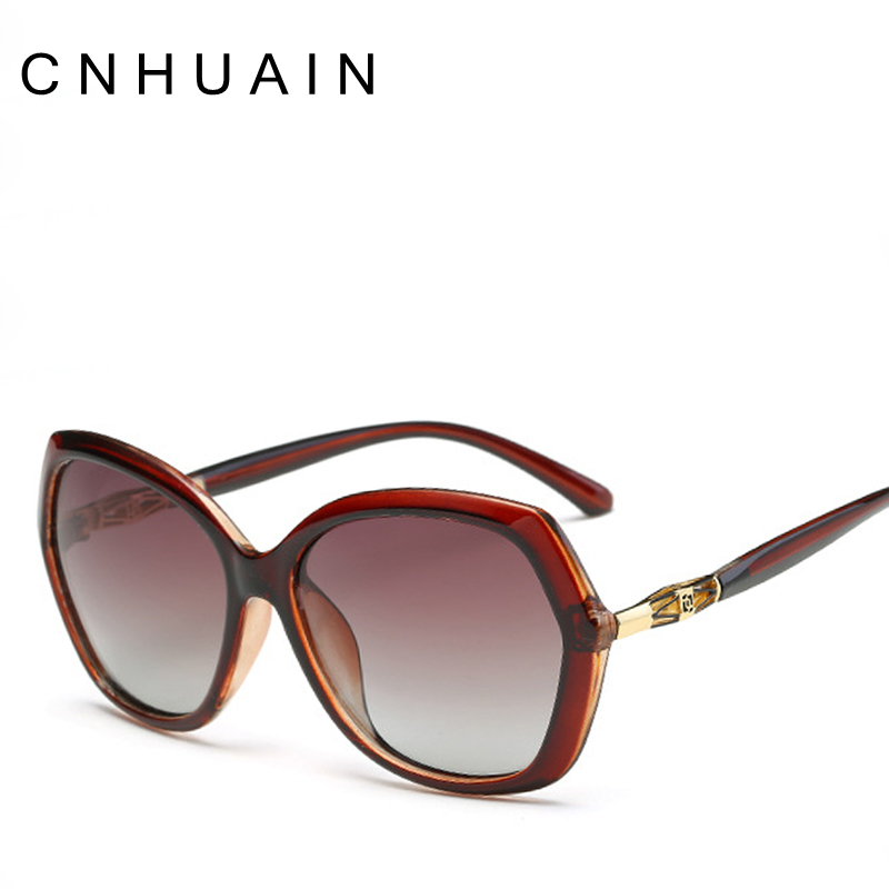 Large Framed Fashion Glasses : Aliexpress.com : Buy CNHUAIN Womens Glasses Polarized ...