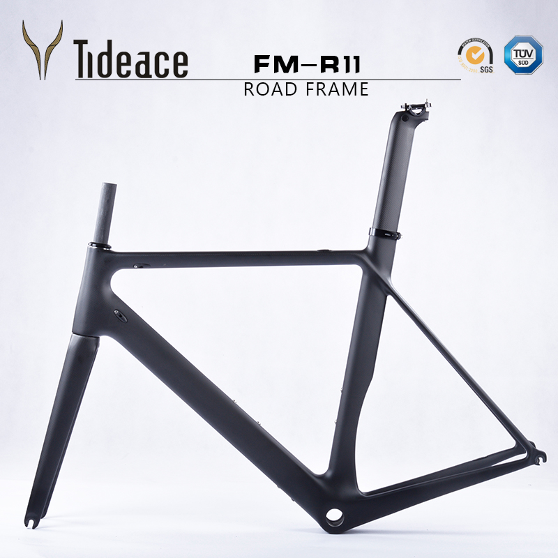 2017 NEW carbon fiber bicycle frame Di2&Mechanical racing bike carbon road frame+fork+seatpost+headset carbon road bike