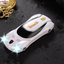 Free shipping unlocked mobile cell phone F1 A11 straight toys car phone children's cartoon character mini model cars with lights(China (Mainland))