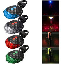 Buy Cycling Accessories Bicycle Light Rear Tail Light Safety Warning Bike Light 5 LED 2 Laser Lamp Light luces led bicicleta BHU2 for $2.79 in AliExpress store