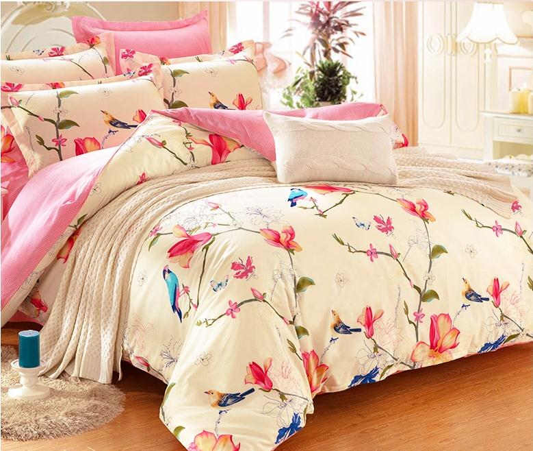 online kaufen gro handel bird comforter bedding aus china bird comforter bedding gro h ndler. Black Bedroom Furniture Sets. Home Design Ideas