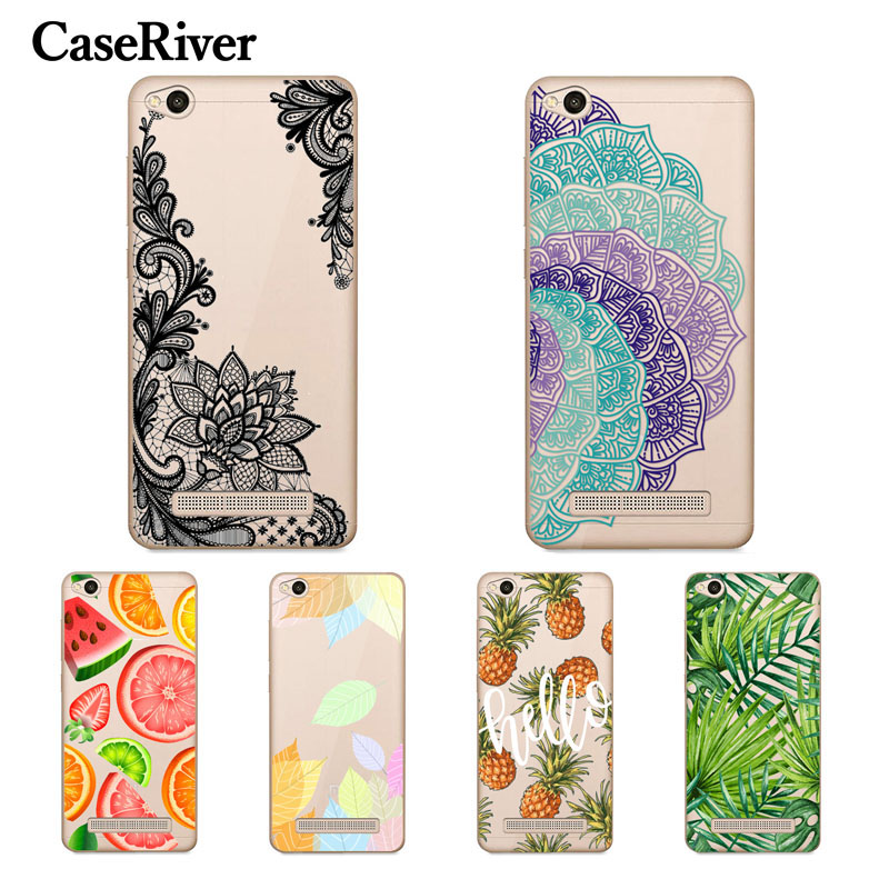 CaseRiver Redmi 4A Case Soft TPU Silicone Xiaomi Redmi 4A Case Cover Fashion Patterns Back Protective Phone Case Xiaomi Redmi 4A