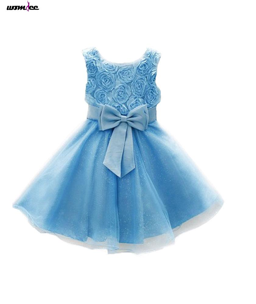 Womdee Summer Kids Baby Girls Sundress Princess Party Dance Tutu Dress(China (Mainland))