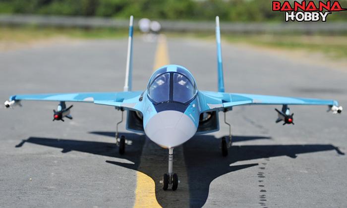 Jet Model Factory Su34 Jet Remote Control Model