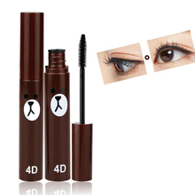 Buy Eyelashes Lengthening Eyes Makeup Black Mascara 4D Natural Fiber Cosmetics Curling and Thick Volume Eye Lash Make Up for Women for $1.43 in AliExpress store