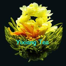 2014 new spring tea jasmine&lily tea, green tea from nature-picking, new blooming flower tea