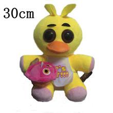 """Five Nights At Freddy's 4 FNAF Freddy Fazbear Bear  Foxy Plush Toys Doll 10"""" Free shipping(China (Mainland))"""
