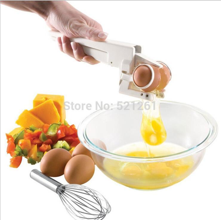 EZ Cracker Egg Cracker with Separator! Separate Egg Kitchen set(China (Mainland))