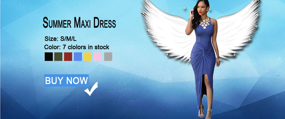 summer maxi party dress 60658