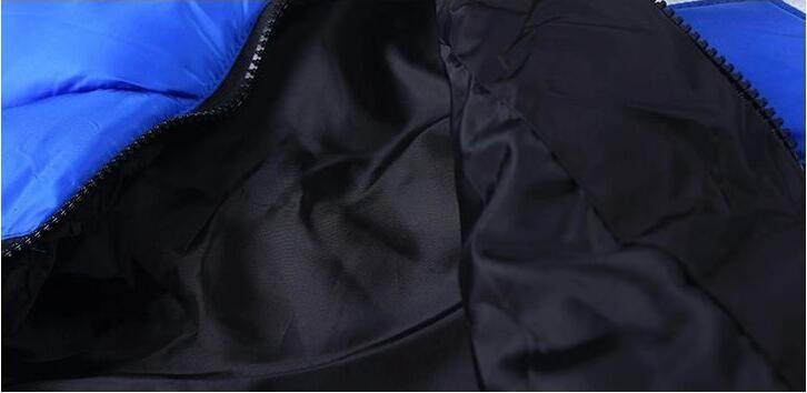 Скидки на 2016 Марка Девушка Зима Теплая Пальто Девушка Длинным Рукавом Мех с капюшоном Лоскутное Мода Длинные Вниз Парки Одежда Kid Школа Повседневная пальто