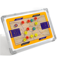 New arrive Aluminum Auxiliary Tactics board for kids basketball training coach board with pen and Eraser magnetic board Plate(China (Mainland))