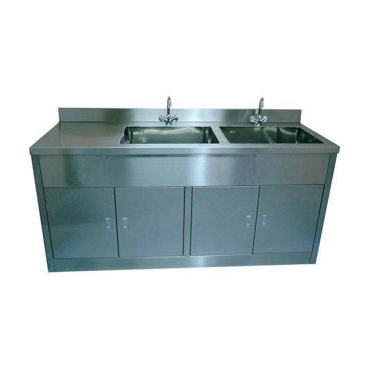 Gold supplier stainless steel kitchen sink cabinet with for High quality kitchen sinks