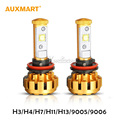 Auxmart H3 H4 H7 H11 H13 9005 9006 60W LED Car Headlight Hi Lo Beam Single