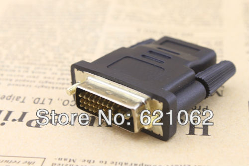 DVI 24+1 Male To HDMI Female Gold Converter Adapter
