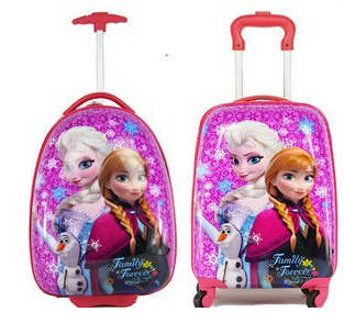 """Cartoon Kids Rolling Luggage Children Trolley School Bags18"""" 16'' Suitcase Travel Bag(China (Mainland))"""