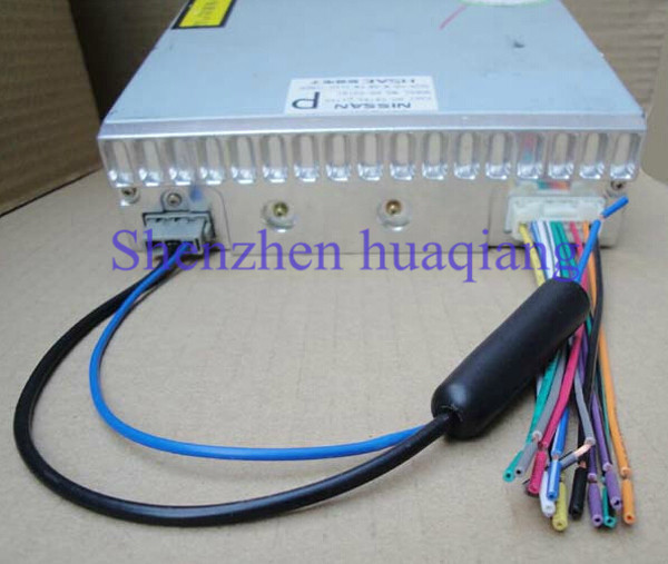 antenna cb picture more detailed picture about car audio wiring car audio wiring harness cd stereo wire radio antenna adapter for nissan livina tiida
