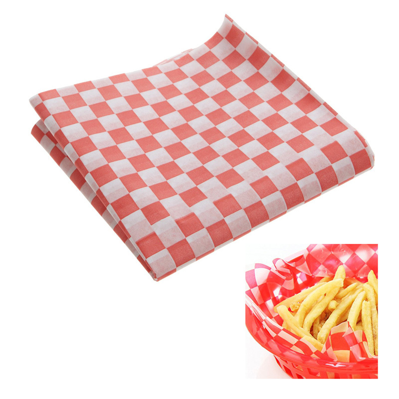 Checkered Wax Paper Wax Paper