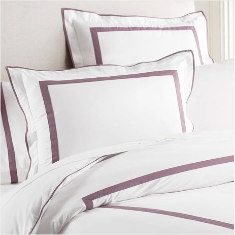 Microfiber-printed bedding set king size export quality duvet cover set European hotel stripes bed cover 4pc quilt cover/sheet(China (Mainland))