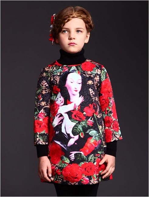2015 Children Clothing Wlmonsoon Toddler Girl Dresses Winter Christmas Dress Princess BB Dress Kids Clothes Girls 3-12Y(China (Mainland))