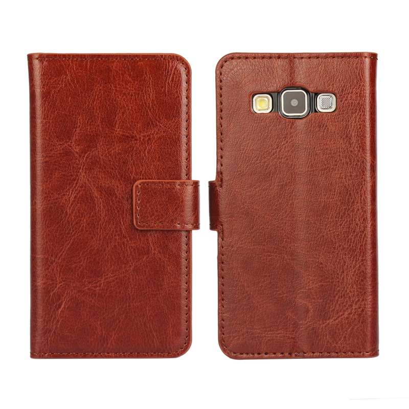 Vintage Wallet PU Leather Case for Samsung Galaxy A3 A3000 A300F with Stand Card Holder Phone Bag Luxury Flip Cover(China (Mainland))