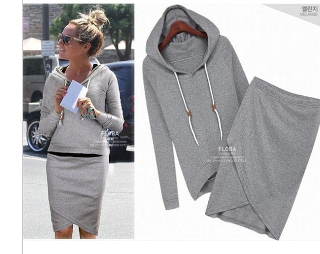 Autumn-summer Baseball Skirt Women Casual Blouse Jacket Sport Suits Pet Hoodies Workout Shorts Suit WT4075(China (Mainland))