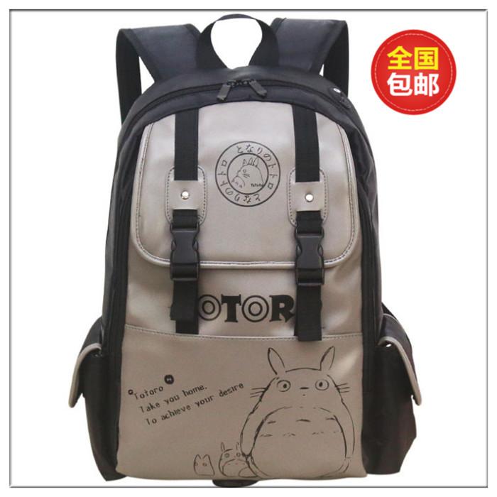 Anime My Neighbor Totoro Backpack Student Cute Cartoon School Bags Canvas Travel Backpacks Birthday Gift