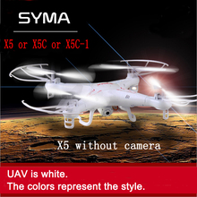Syma x5c Upgrade Syma x5c-1 2.4G 4CH 6-Axis aerial RC Helicopter Quadcopter Toys Drone With Camera or Syma x5 Without camera(China (Mainland))