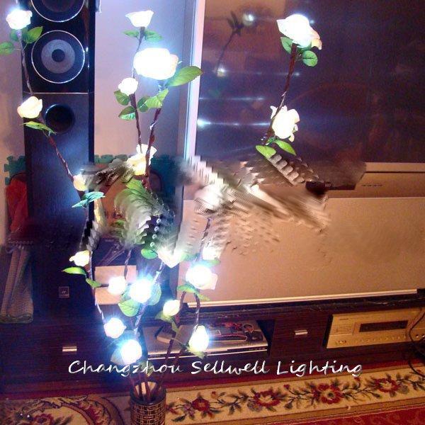 NEW!Holiday lighting house accessory wedding celebration product rose lamp H235(China (Mainland))