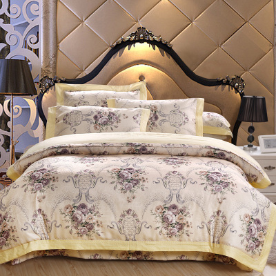 S v european luxury bedding sets mordern bed linen designer duvet cover christmas embroidery - Look contemporary luxury bedding ...