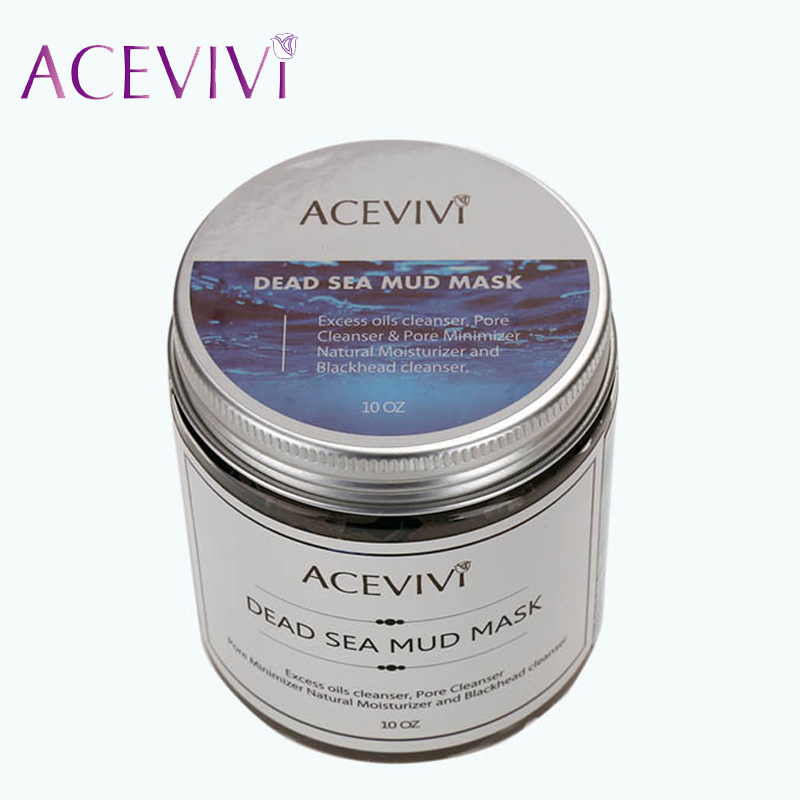 Acevivi Brand Deep Cleaning Skin Care Blackhead Remover Canned Dead Sea Mud Facial Mask Pore Cleanser 31(China (Mainland))