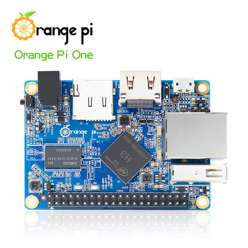 Orange Pi One Support ubuntu linux and android mini PC Beyond and Compatible with Raspberry Pi 2(China (Mainland))