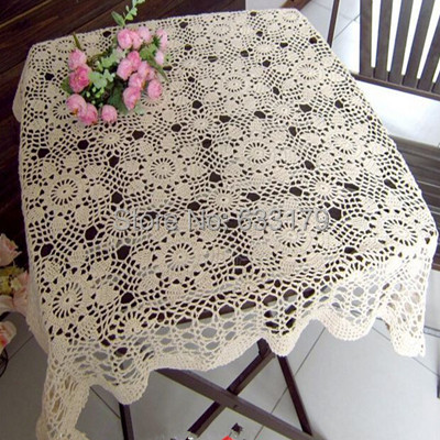 buy table cloth home decor wedding placemats square 100 cotton hand crochet classic lace. Black Bedroom Furniture Sets. Home Design Ideas