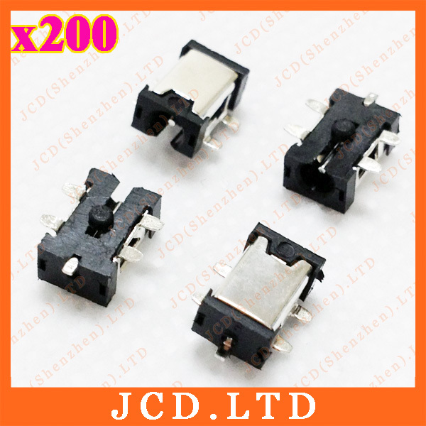 200X Tablet PC DC Jack,MID Power Jack for Aigo/Window/DaonoMSA/RAmos-5 SMD foot-0.7mm<br><br>Aliexpress