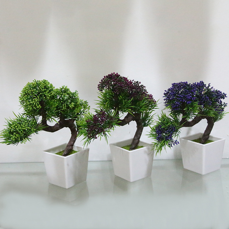 Buy creative decorative emulate pine for Artificial flowers decoration home