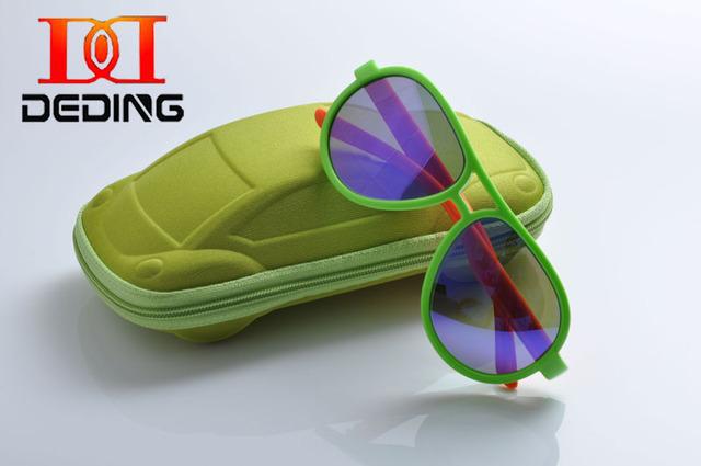 Deding 2016 новых детей мальчики поляризованных солнцезащитных очков спортивный стиль детей солнцезащитные очки 100% UV óculos de sol gafas DD1208
