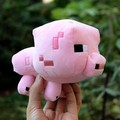 Anime Minecraft Game Figure Toys 16cm Minecraft Pink Pig Toys for Kids Children High Quality