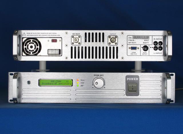 2u 600w professional fm stereo broadcast transmitter fm exciter -