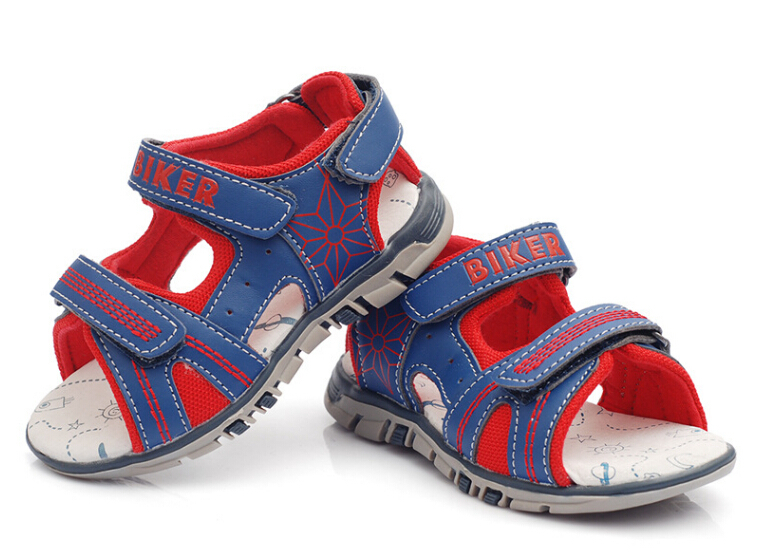 Fashion Summer Casual Sandals Kids Boy Breathable Shoes Baby Boy Pigs Leather Sandals(China (Mainland))
