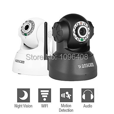 Free DHL shipping Wanscam JW0008 Wireless IP PNP P2P CCTV Camera Support View On Iphone Andriod for Security IP Internet Camera(China (Mainland))