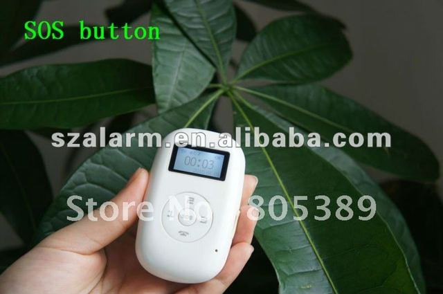 Free shipping 3pieces/ lot  smart gps tracker with SOS button