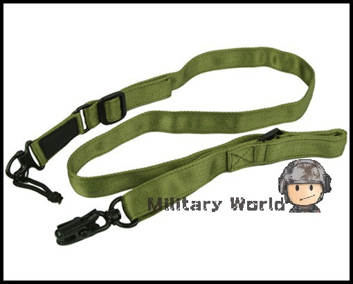 5pcs lot Airsoft Tactical Army Military Multi Mission Bungee Two Point Rifle Sling Gun Sling 2