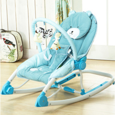 Maribel Hand-actuated baby rocking chair portable folding chaise lounge multifunctional cradle rocker(China (Mainland))