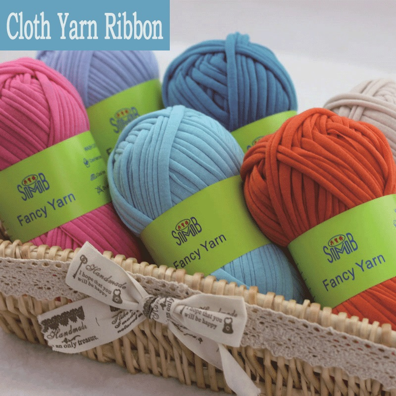 New fancy yarns for hand knitting thick thread crochet for Craft with woolen thread