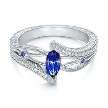 3 สีสุภาพสตรี 925 anillos แหวน(China)