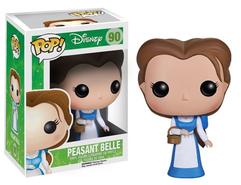 Funko POP Vinyl Figure Movie Beauty and Beast - Peasant Belle 90 #4021 IN STOCK(China (Mainland))