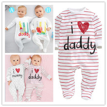 New 2014 Brand Baby Bodysuits Autumn Newborn Cotton Body Baby Long Sleeve Underwear Next Infant Boys Girls Pajamas Clothes