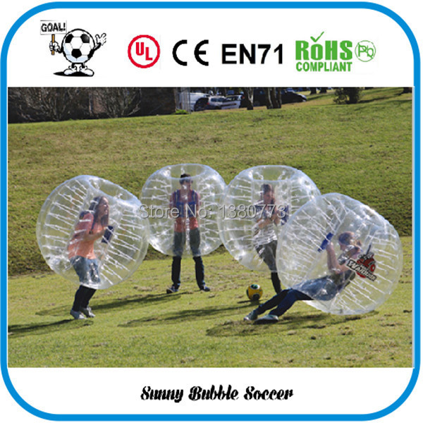 1.5M Bubble Soccer For Team Building Game, Human Hamster Ball For Fun, Zorb Ball For sale ,Buy More, Get Good Discount(China (Mainland))