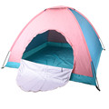 Camping 4 Person Family Tent Sun Shade Shelter Outdoor Hiking Travel Awning Fishing Party Beach Tents