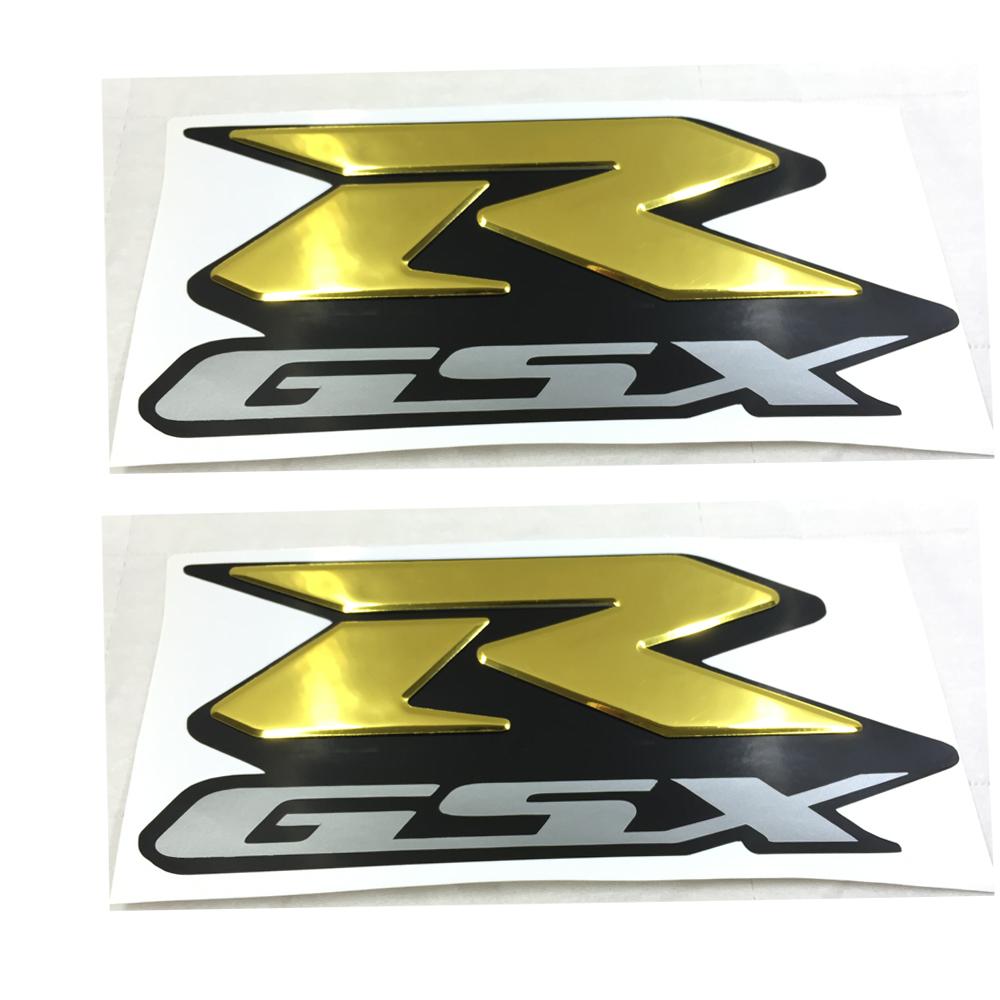 Golden MOTORCYCLE EMBLEM BADGE DECAL 3D TANK WHEEL LOGO FOR SUZUKI GSXR600 GSXR750 GSXR1000 2000-2015 STICKER<br><br>Aliexpress